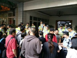 Over 100 church members were taken away by police in China