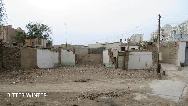 mosque demolition
