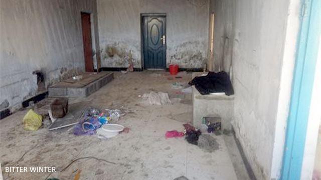 Sun Li's home was looted.