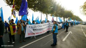 Geneva demonstration for human rights in China
