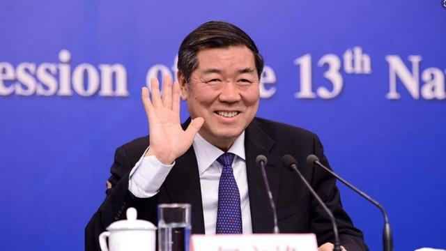 He Lifeng, head of the National Development and Reform Commission.