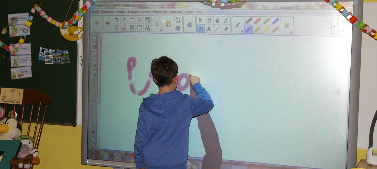 Smartboard Astrid-Lindgren Grundschule