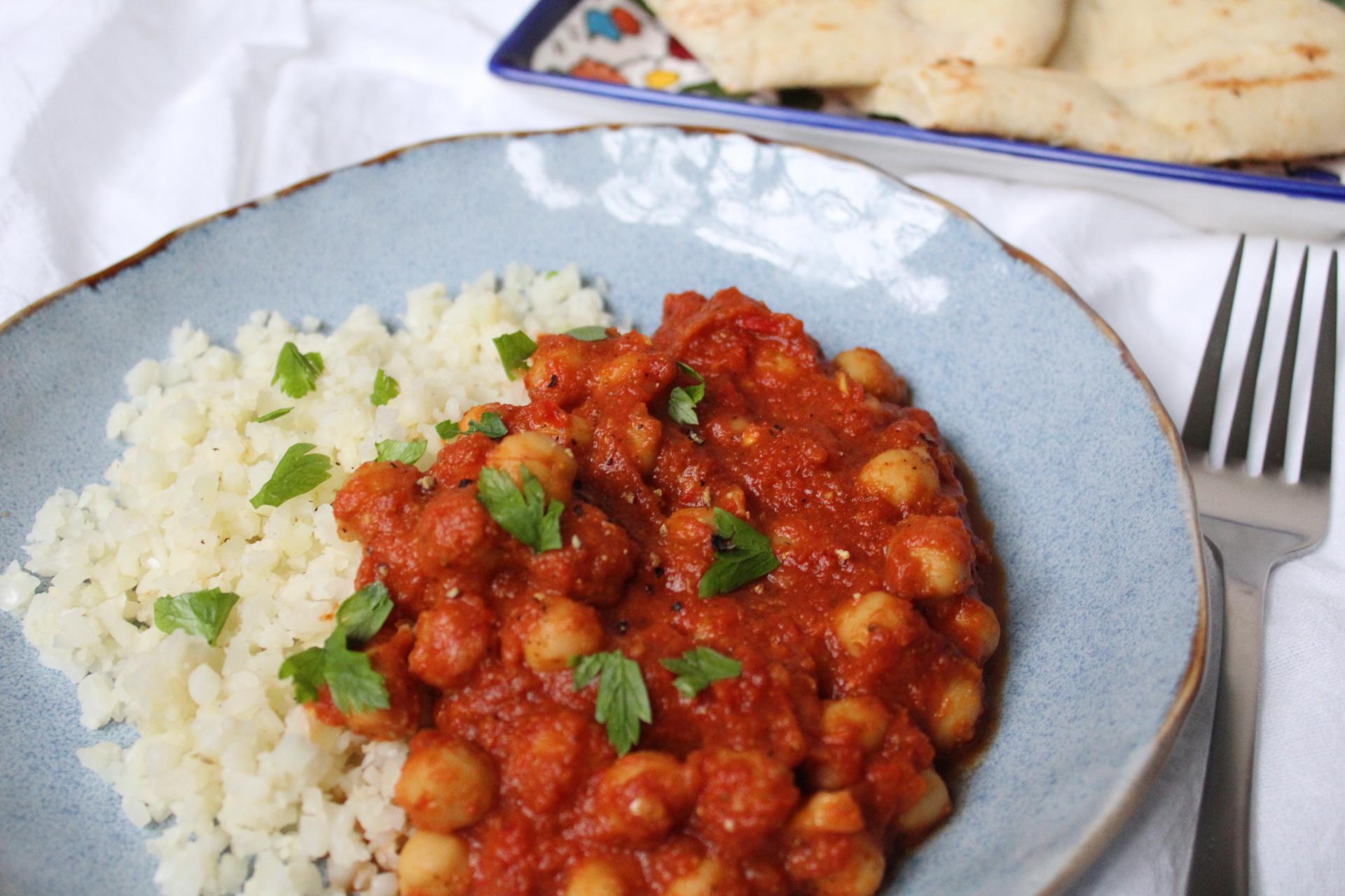 Tikka Masala w/ Riced Cauliflower