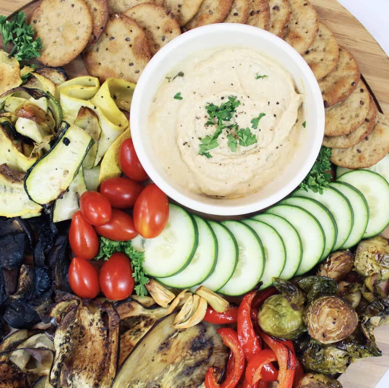 Veggie Mediterranean Platter