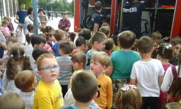 Pompierii vă așteaptă la sediu.13 septembrie Ziua porților deschise