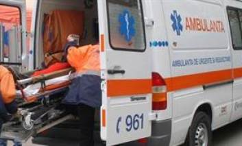 Accident rutier in Lunca Pascani. Barbat rănit la cap și la coloană, trecut prin mai multe spitalte