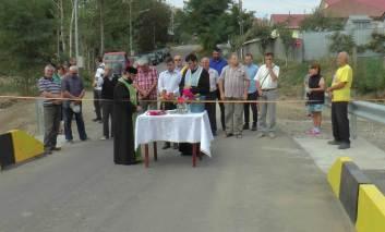 Recepţie finală pentru drumurile comunale din Tătăruși