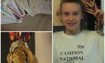 Iustina Berbece, din nou campioana nationala la atletism