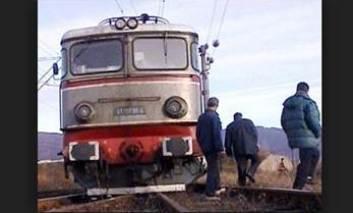 Exercițiul unei catastrofe feroviare la Cristești