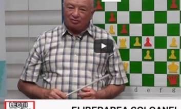 ȘAH - ELIBERAREA COLOANEI - Cu prof. instructor Vasile Niță
