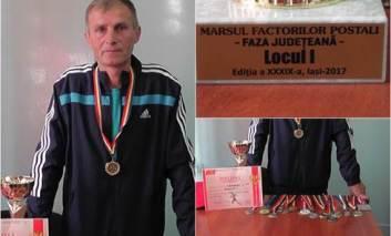 Poștașul alergător calificat la naționala mersului forțat! Constantin Văcărașu speră la balcaniadă