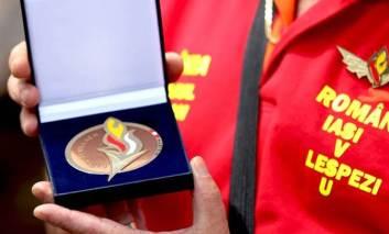 Pompierii din Lespezi, de toata lauda. Medalie de bronz la Olimpiada Internationala din Austria