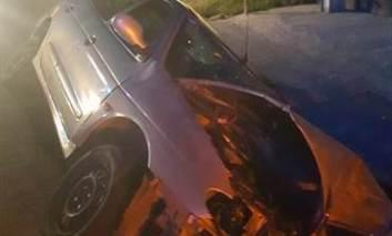 Accident rutier – șoferul a adormit la volan. Mașina era cu numere de Italia