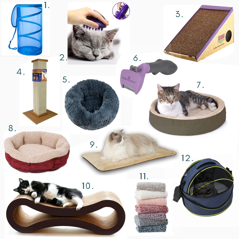 Cat beds and scratchers we love