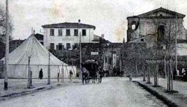 Circo Falorni, cartolina circa 1920-'30