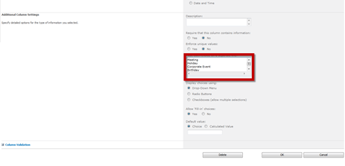 Creating Color-Coded Calendar Events in SharePoint 2010