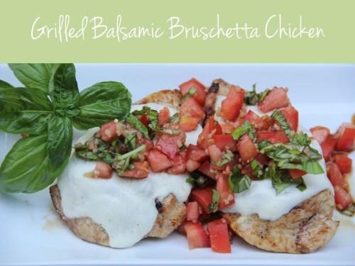Grilled Balsamic Chicken - Bitz & Giggles
