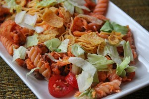 Taco Chip Pasta Salad