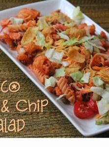 Taco Pasta & Chip Salad
