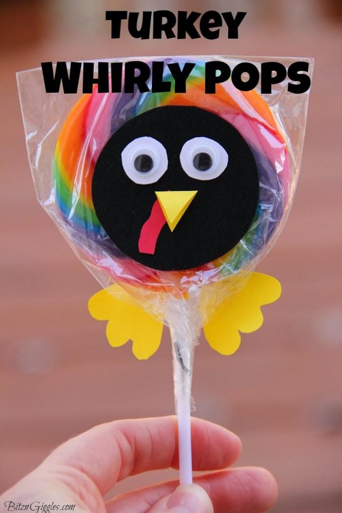 Turkey Whirly Pops