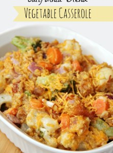 California Blend Vegetable Casserole