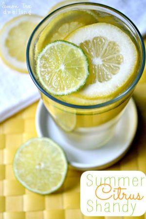 Summer Citrus Shandy