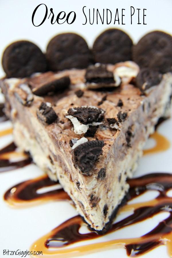 Oreo Sundae Pie
