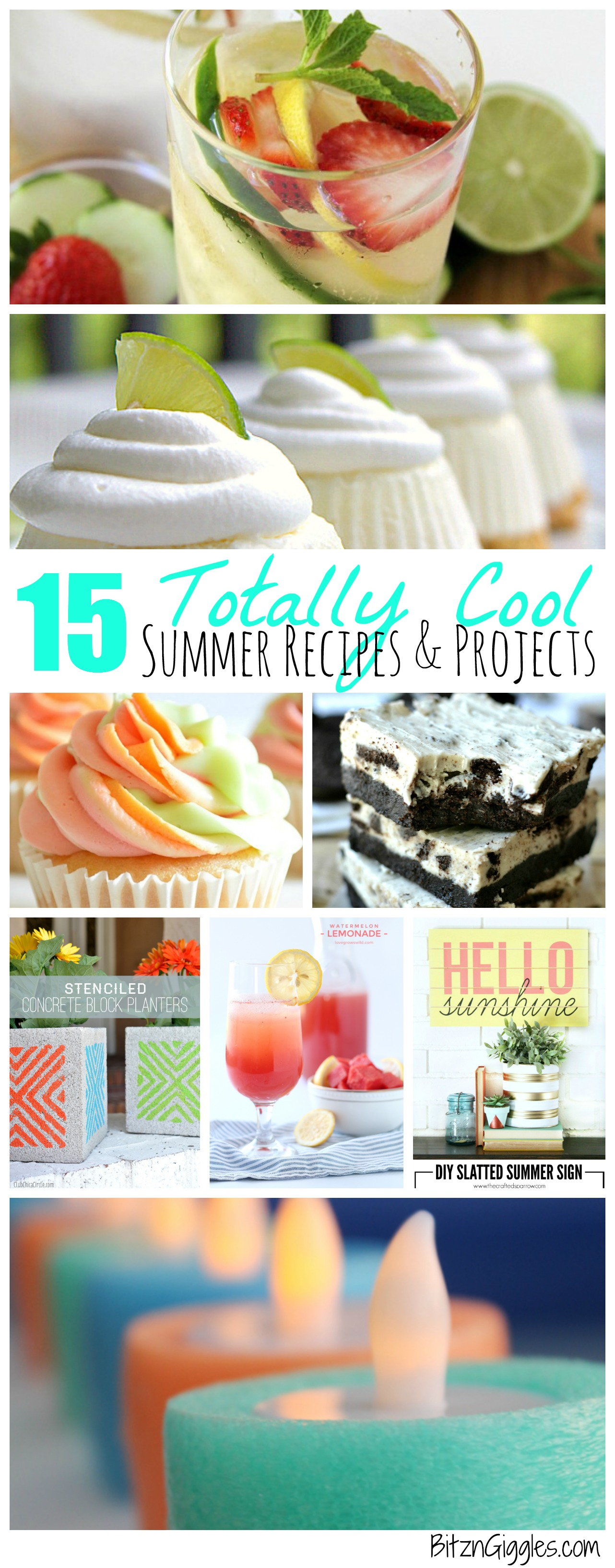 15 Summer Gel Nails: 15 Totally Cool Summer Recipes & Projects