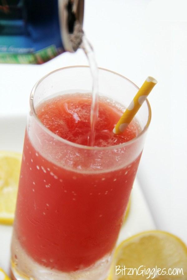 Cranberry Lemonade Slush Cocktail