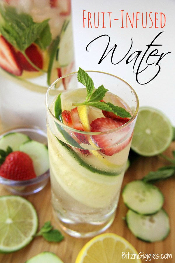 Fruit Infused Water - Bitz & Giggles