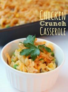 Chicken Crunch Casserole