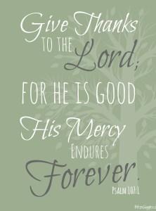 Thanksgiving Printable – Give Thanks