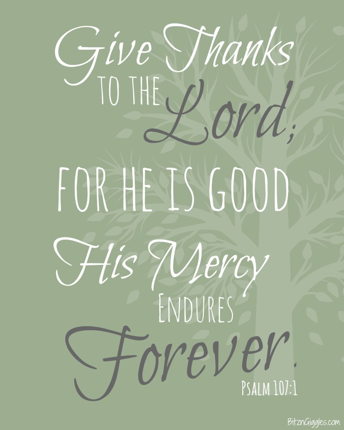FREE Thanksgiving Printable available in three different colors!