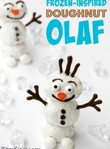 Frozen-Inspired Doughnut Olaf