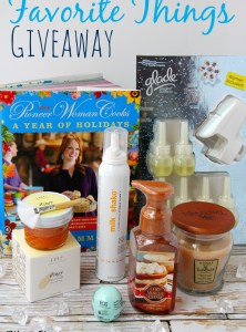 Favorite Things Giveaway!!