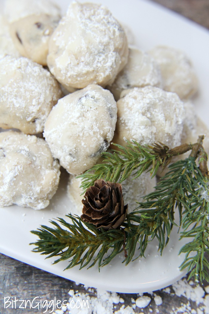 Chocolate Chip Snowball Cookies1