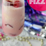Raspberry Fizz - The perfect mocktail for New Year's Eve or any special celebration!