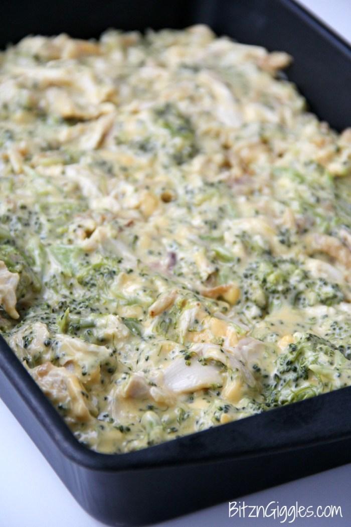 Chicken Broccoli Ritz Casserole