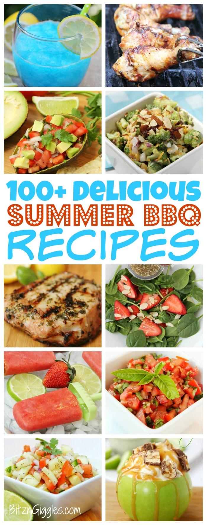 100+ Delicious Summer BBQ Recipes