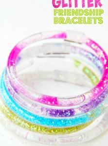 Glitter Friendship Bracelets