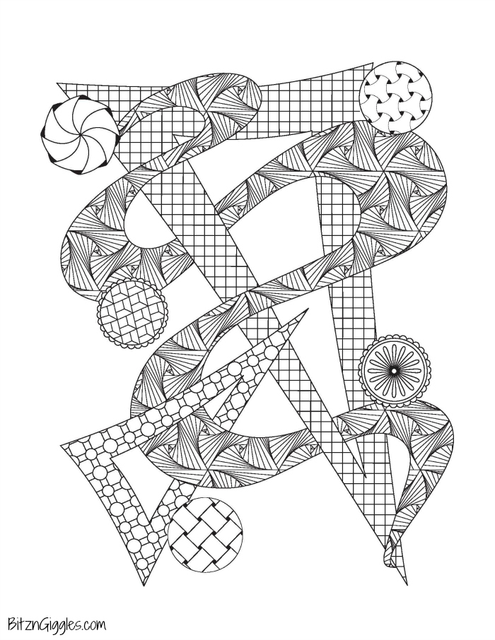 Free Printable Adult Coloring Pages - Two fun designs to choose from! A fun and relaxing experience when you need a little break!