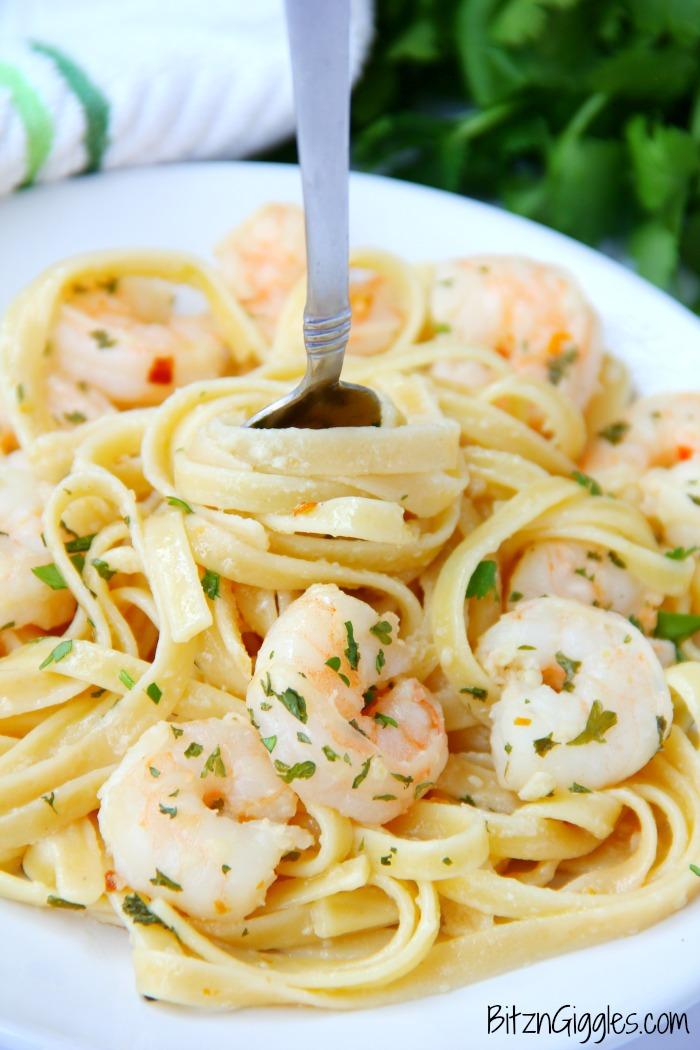 recipe: lemon pepper shrimp fettuccine [21]