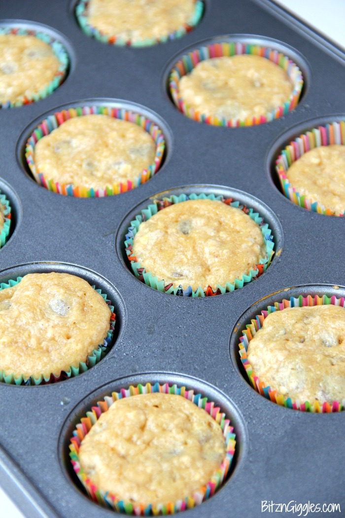 Dog Cupcakes - Easy Banana Oatmeal Cupcakes for Dogs! These pupcakes are perfect for your dog's birthday or even just those times you want to bake a special treat for your furry family member!