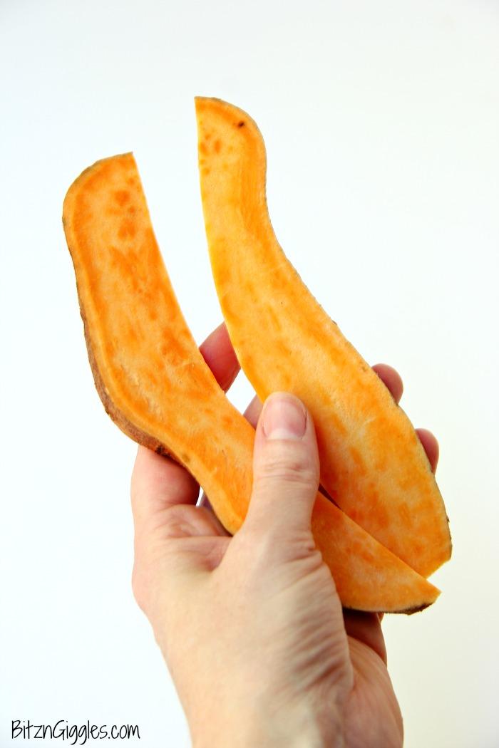 Chewy Sweet Potato Dog Treats - Homemade sweet potato treats your dog will do flips for!