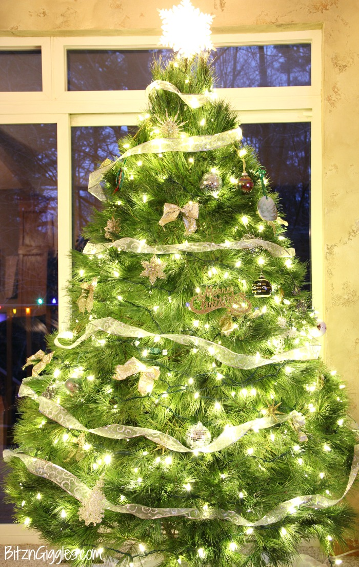 Caring for Your Real Christmas Tree - Tips on caring for a natural Christmas tree so it lasts all season long!