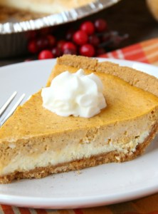 Cheesecake Pumpkin Pie