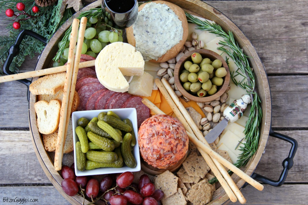 How to Assemble a Charcuterie Board - Step-by-step instructions on how to make your own charcuterie board! This is such an easy and stunning idea for a party!