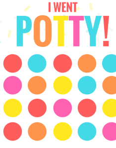 Printable potty training chart free use stickers or also bitz  giggles rh bitzngiggles