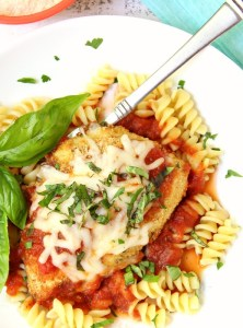 Mozzarella Basil Chicken