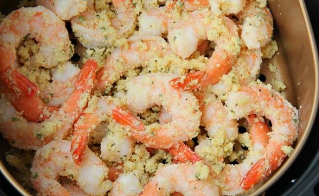 Air Fryer Parmesan Shrimp Bitz Giggles